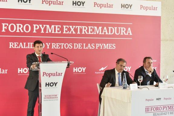 Manuel Vázquez Calleja participa en el III Foro Pyme en Badajoz